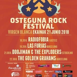 6ª edición del Osteguna Rock, víspera del Azkena Rock Festival 2018