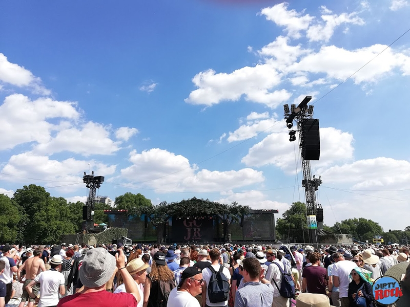 Eric Clapton crónica British Summer Time Hyde Park on 8 julio 2018