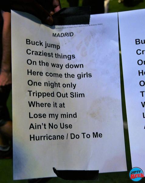 Trombone Shorty & Orleans Avenue setlist Madrid