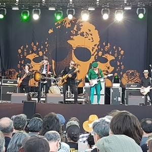 Mott the Hoople Azkena Rock Festival 2018.
