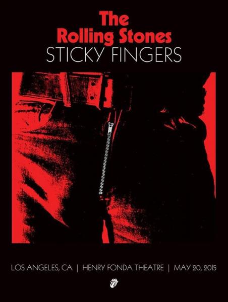 Rolling Stones publican el directo en el que interpretaron íntegramente el Sticky Fingers en 2015 en 2017