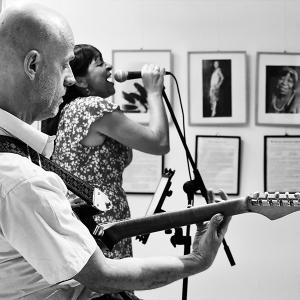 Damas del Blues expo Festival Blues Moratalaz 2018.1