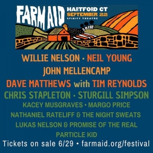 Farm Aid 2018. Are you ready for the Country