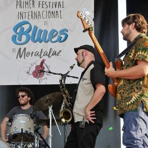 Danny del Toro Moratalaz Blues Fest ensayo.