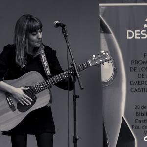 Nadia Álvarez en el Foro Despega CyL presentando Mundos sutiles.