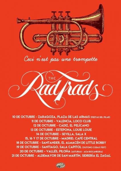 The rad Trads gira 2018