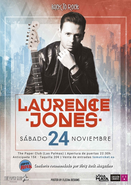 Laurence Jones Las Palmas de Gran Canaria 2018.