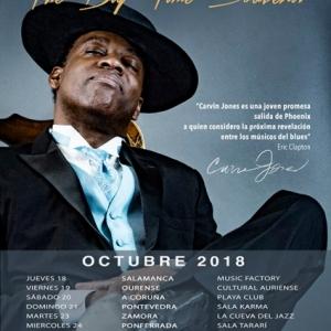 Gira española de Carvin Jones 2018
