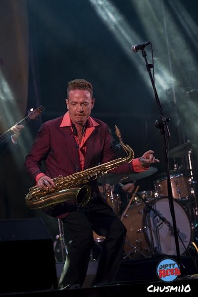 Dani Nel·lo & Los Saxofonistas Salvajes. Palencia en Negro.