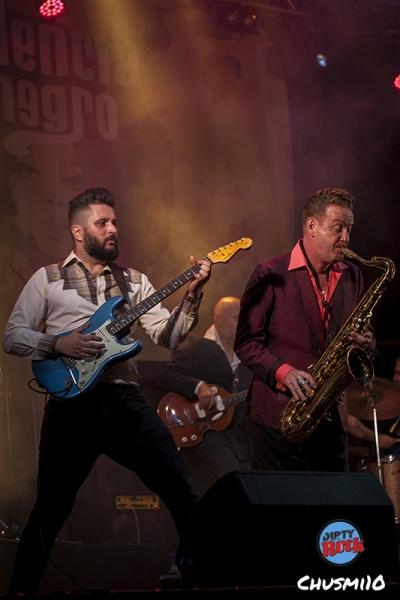 Dani Nel·lo & Los Saxofonistas Salvajes. Palencia en Negro.1