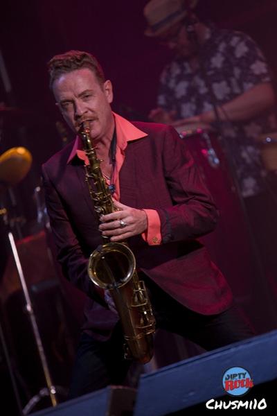 Dani Nel·lo & Los Saxofonistas Salvajes. Palencia en Negro2