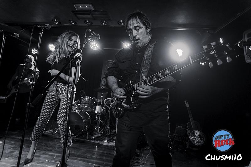 Travellin´ Brothers junto con Ian Siegal & Ina Forsma, en concierto.7