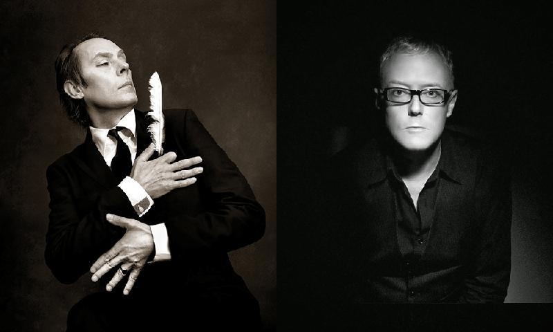 Peter Murphy y David J. 40 Aniversario de Bauhaus en Madrid y Barcelona.1