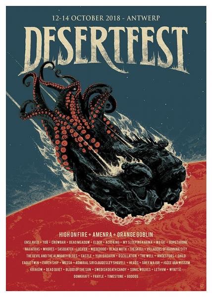 Desertfest Bélgica 2018 Un lustro en el desierto.3