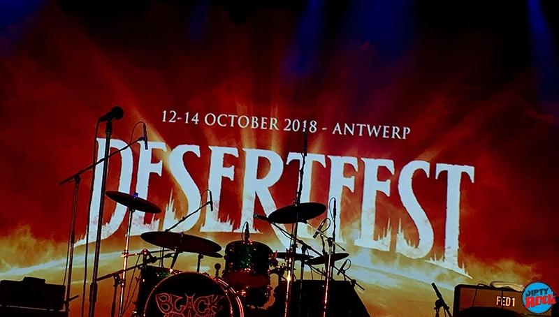 Desertfest Bélgica 2018 Un lustro en el desierto