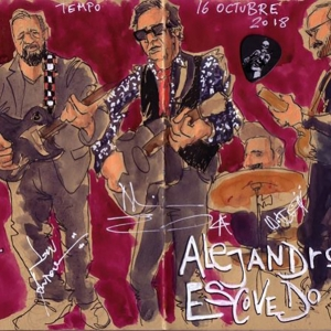 Alejandro Escovedo Madrid 2018 Cayetana Álvarez