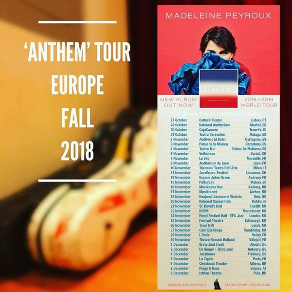 Madeleine Peyroux presenta en España su nuevo disco, Anthem 2018