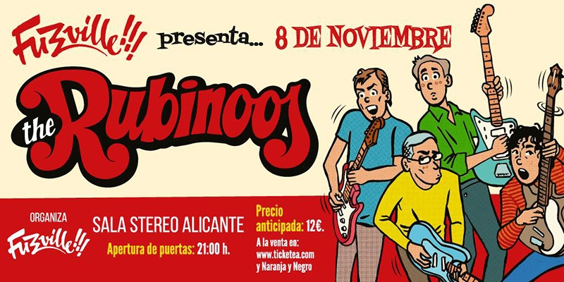 Gira de The Ribinoos 2018