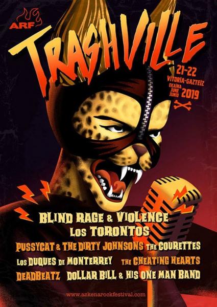 Escenario Trashville 2018 Azkena Rock Festival