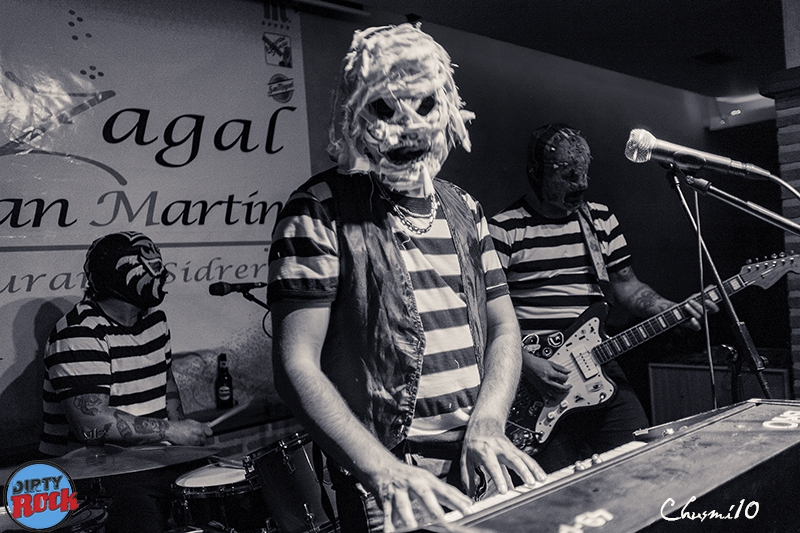 The Abstinence gira española 2018.