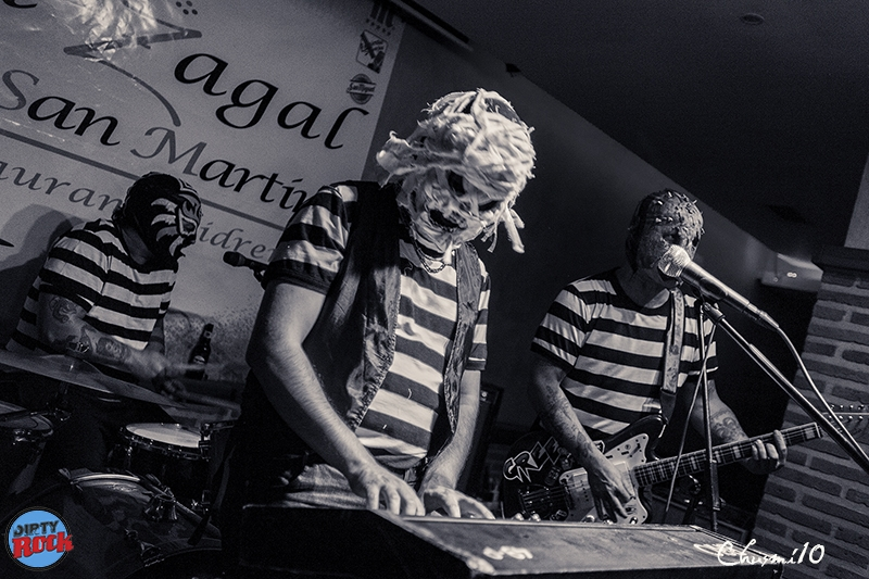 The Abstinence gira española 2018.3