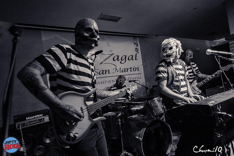 The Abstinence gira española 2018.4