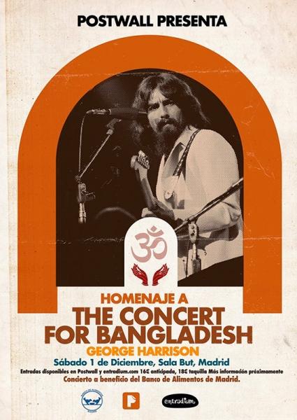 Homenaje al Concierto por Bangladesh en Madrid con fines solidarios