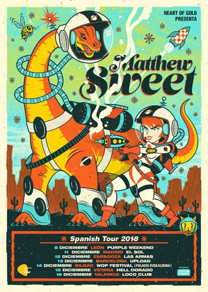Matthew Sweet gira española 2018