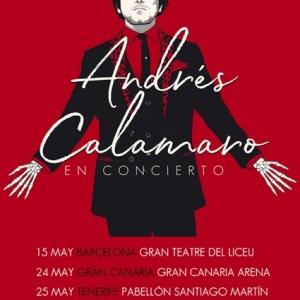 Andrés Calamaro anuncia sus primeras fechas de la gira española Cargar la Suerte 2019