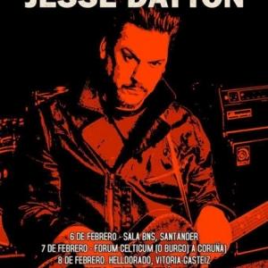 Gira española de Jesse Dayton en febrero 2019