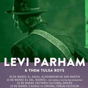 Nuevo disco y gira de Levi Parham presentando It's All Good