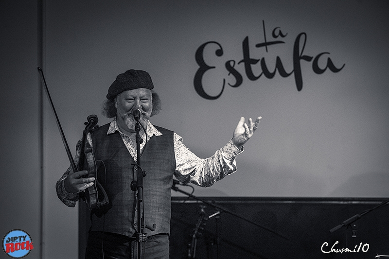 Alasdair Fraser y Natalie Haas en los Conciertos de la Estufa 2018