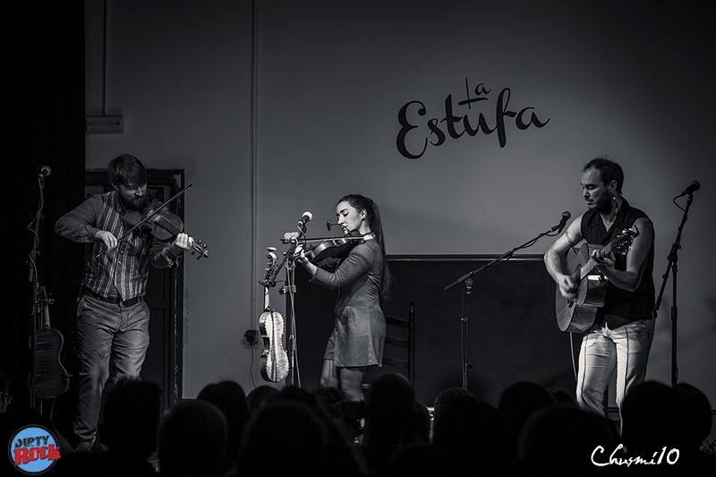 Atlantic Folk Trio en los Conciertos de la Estufa