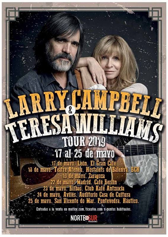 Jam Bands, Southern Rock y Roots music!!!!!! - Página 16 Gira-espa%C3%B1ola-de-Larry-Campbell-Teresa-Williams-en-mayo-2019