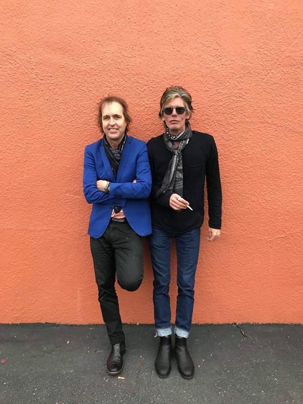 Gira Chuck Prophet & Charlie Sexton 2019 Rolling Stones Some Girls.