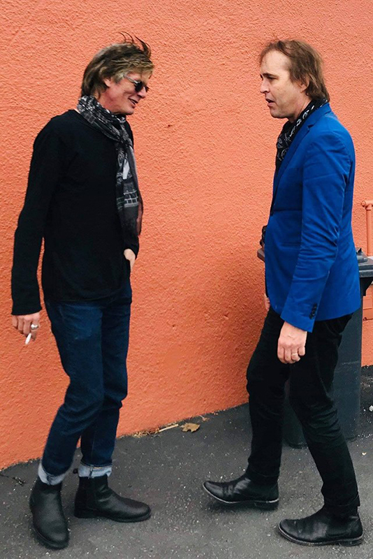 Gira Chuck Prophet & Charlie Sexton 2019 Rolling Stones Some Girls