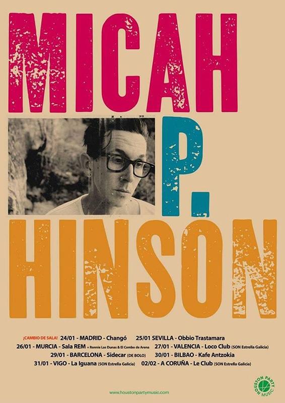 Gira española de Micah P. Hinson 2019