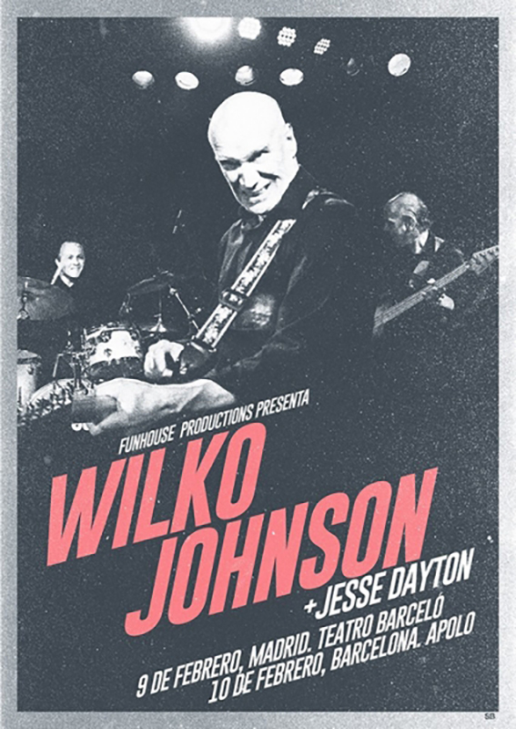 Entrevista Jesse Dayton gira Wilko Johnson 2019