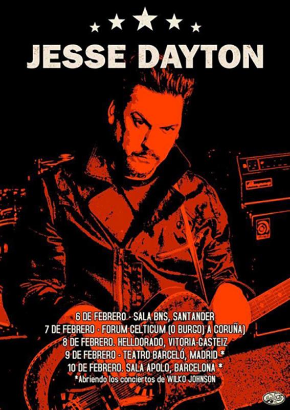 Gira-española-de-Jesse-Dayton-en-febrero-2019 entrevista