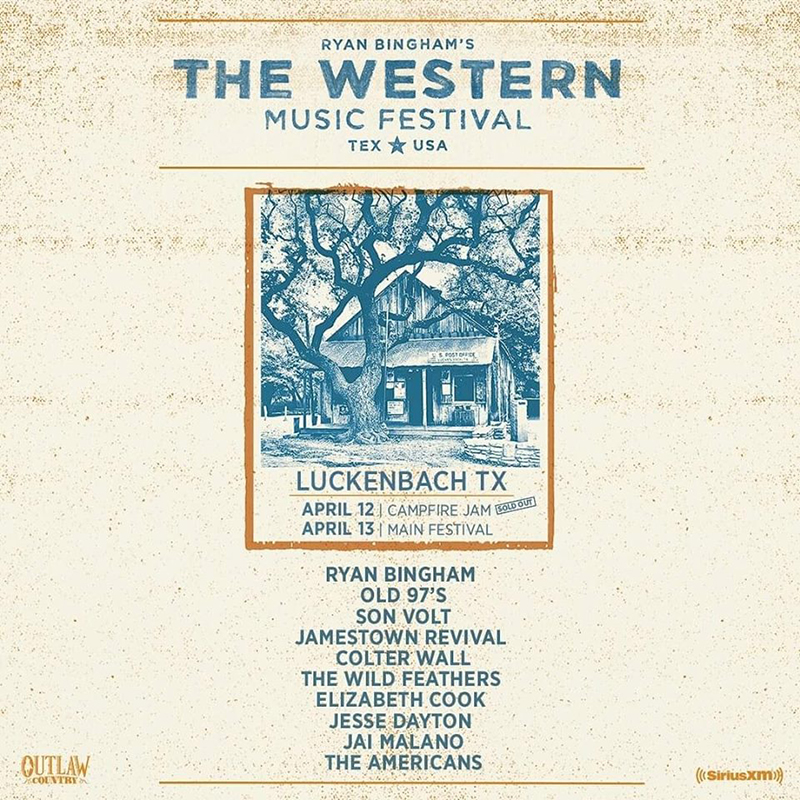 The Western Music Festival Ryan Bingham 2019