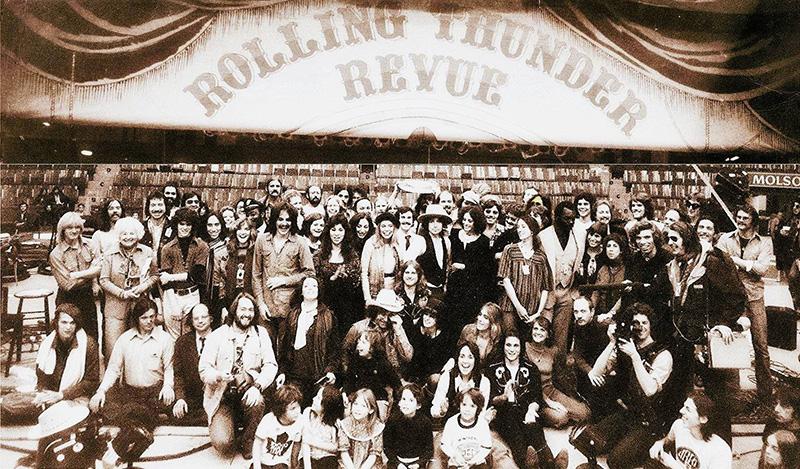 La-química-Bob-Dylan-y-Martin-Scorsese-en-Rolling-Thunder-Revue-film-disco
