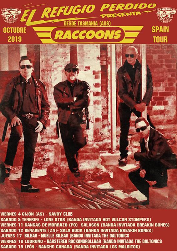 The-Racoons-tour-gira-2019-España