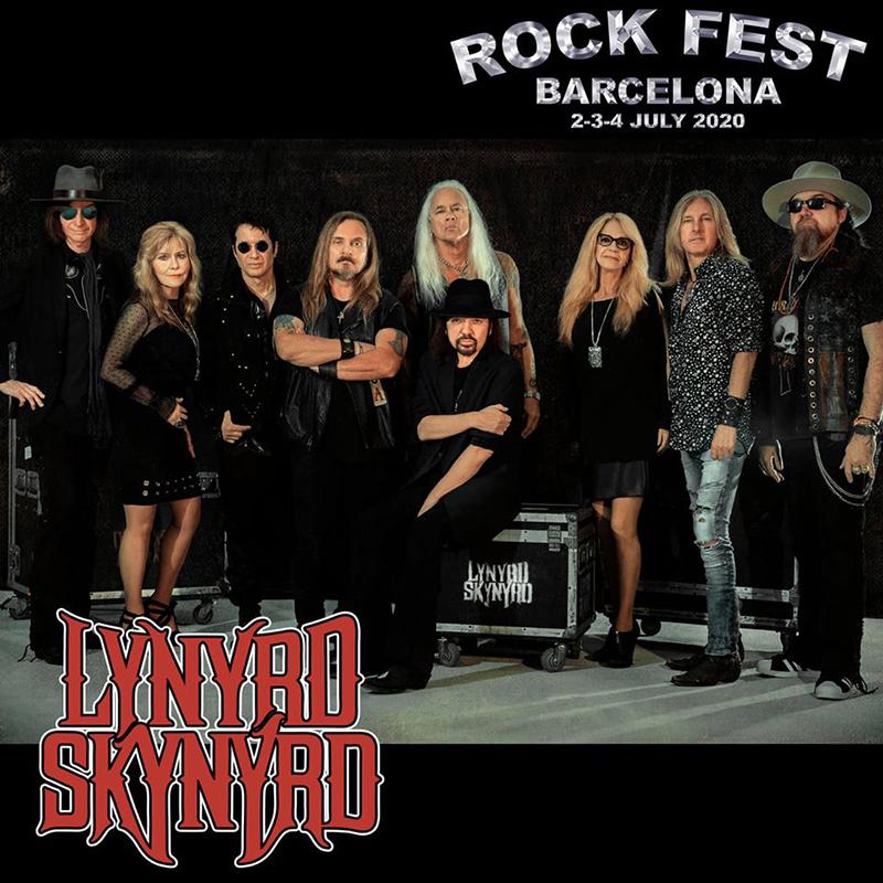 Lynyrd-Skynyrd-ofrecerán-dos-conciertos-en-España-Rock-fest-Barcelona-2020