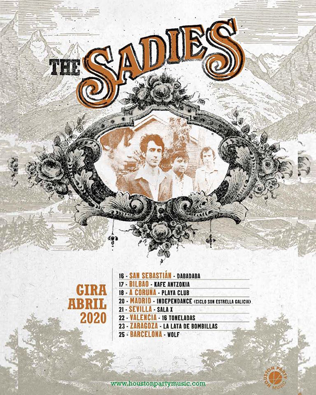 Gira-The-Sadies-abril-2020
