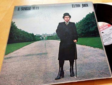 Elton John A Single Man disco