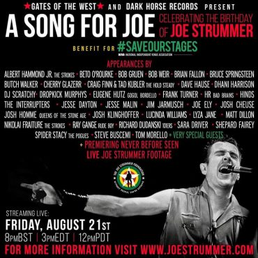 A song for Joe concierto tributo a Joe Strummer