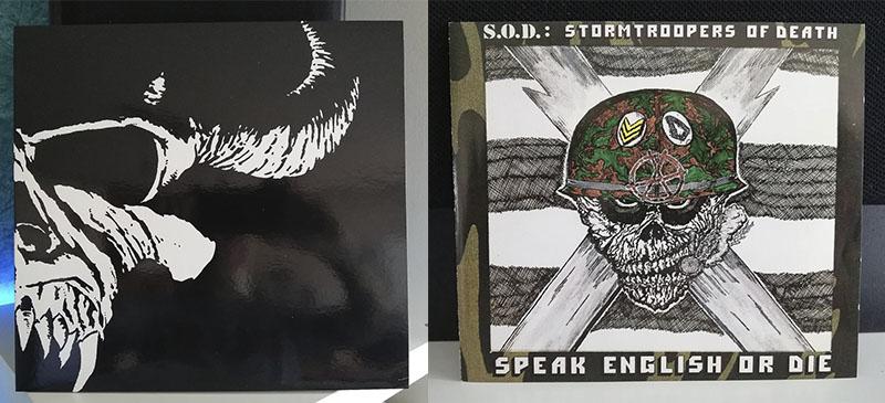 Danzig Danzig Stormtroopers of Death (S.O.D.) Speak English or Die disco