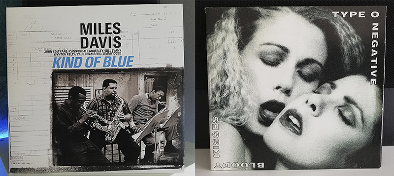 Miles Davis Kind of Blue Peter Steel Type O Negative disco