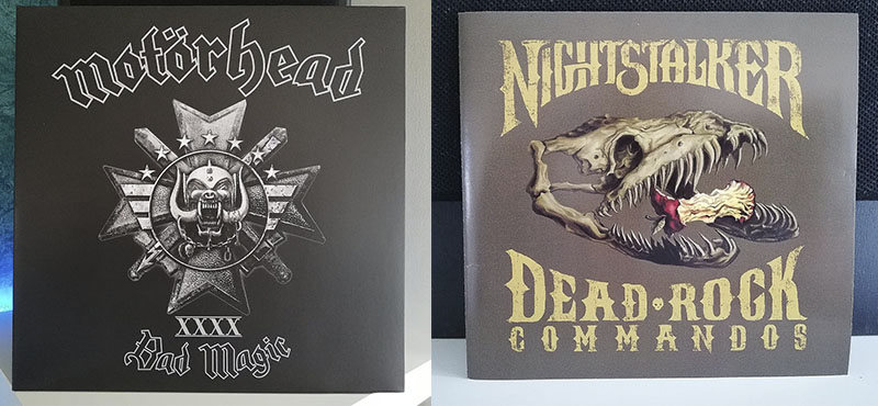 Motörhead Bad Magic Nightstalker Dead Rock Commandos disco
