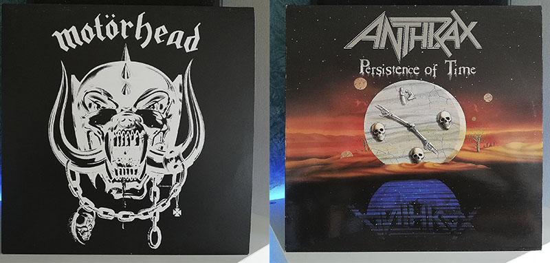 Motörhead Motörhead Anthrax Persistence of Time dsico